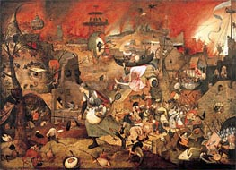 Bruegel the Elder | Dulle Griet (Mad Meg) | Giclée Canvas Print
