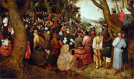 Bruegel the Elder | The Sermon of St. John the Baptist, 1566 | Giclée Canvas Print