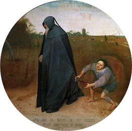 Bruegel the Elder | The Misanthrope, 1568 | Giclée Canvas Print