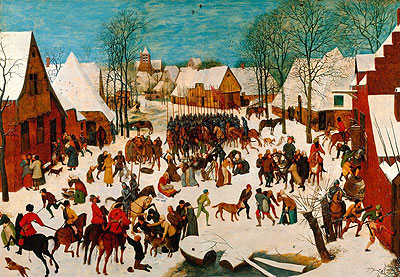 Massacre of the Innocents, c.1565/67 | Bruegel the Elder | Painting Reproduction