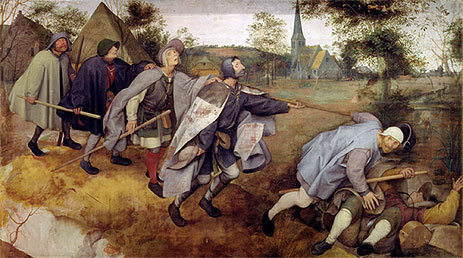 Parable of the Blind, 1568 | Bruegel the Elder | Giclée Canvas Print