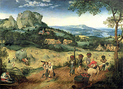 Haymaking, 1565 | Bruegel the Elder | Giclée Canvas Print