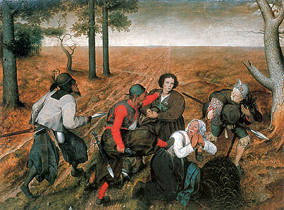 The Assault, 1567 | Bruegel the Elder | Painting Reproduction