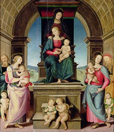 Perugino | The Family of St. Anne | Giclée Canvas Print