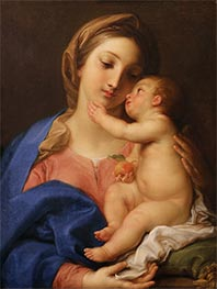 Pompeo Batoni | Madonna and Child | Giclée Canvas Print