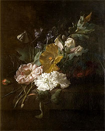 Rachel Ruysch | Still Life with a Spray of Flowers, c.1685/00 | Giclée Canvas Print