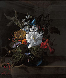 Rachel Ruysch | Still Life with Devil's Trumpet and Cactus, Undated | Giclée Canvas Print