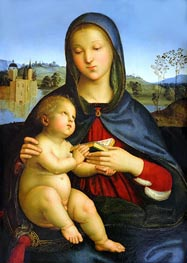 Raphael | Madonna and Child with Book | Giclée Canvas Print