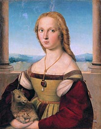 Raphael | Lady with a Unicorn, c.1505/06 by | Giclée Canvas Print