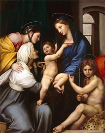 Raphael | Madonna of the Cloth, c.1514 | Giclée Canvas Print