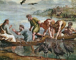 Raphael | The Miraculous Draught of Fishes, c.1515/16 | Giclée Canvas Print