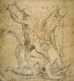 Raphael | Drawing for The School of Athen's, undated | Giclée Paper Print