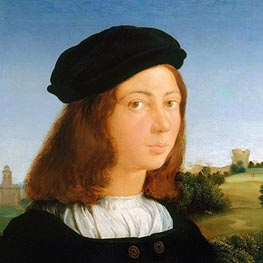 Raphael | Portrait of a Man, c.1506/13 | Giclée Canvas Print