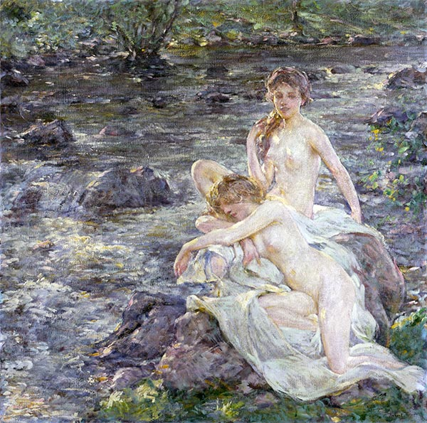 Robert Reid | The Bathers, undated | Giclée Canvas Print