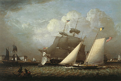 Picture of the 'Dream' Pleasure Yacht, 1839 | Robert Salmon | Giclée Canvas Print