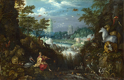 Orpheus, 1628 | Roelandt Savery | Painting Reproduction