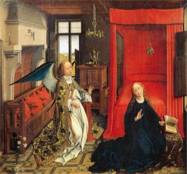 van der Weyden | The Annunciation | Giclée Canvas Print