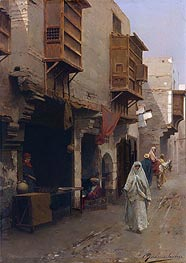 Rubens Santoro | A Street in North Africa, undated | Giclée Canvas Print