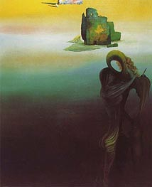 Dali | Gradiva Finds the Anthropomorphic Ruins | Giclée Canvas Print