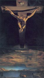 Dali | Christ of Saint John of the Cross, 1951 | Giclée Canvas Print