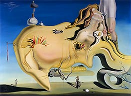 Dali | The Great Masturbator | Giclée Canvas Print