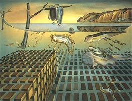 Dali | The Disintegration of Persistence of Memory | Giclée Canvas Print