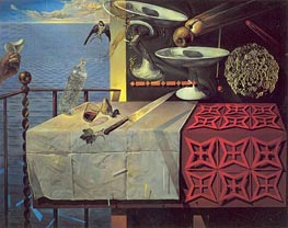 Dali | Still Life, Fast Moving, Nature Morte Vivante | Giclée Canvas Print