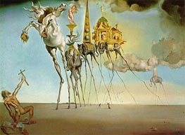 Dali | The Temptation of Saint Anthony | Giclée Canvas Print