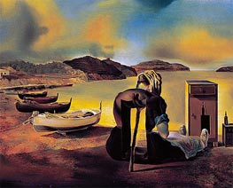Dali | Weaning of Furniture Nutrition, 1934 | Giclée Canvas Print
