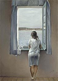 Dali | Figure at the Window, 1925 | Giclée Canvas Print