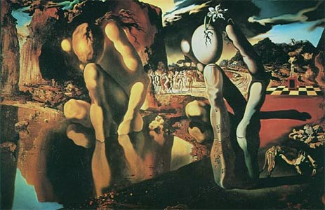 The Metamorphosis of Narcissus, 1937 | Dali | Giclée Canvas Print