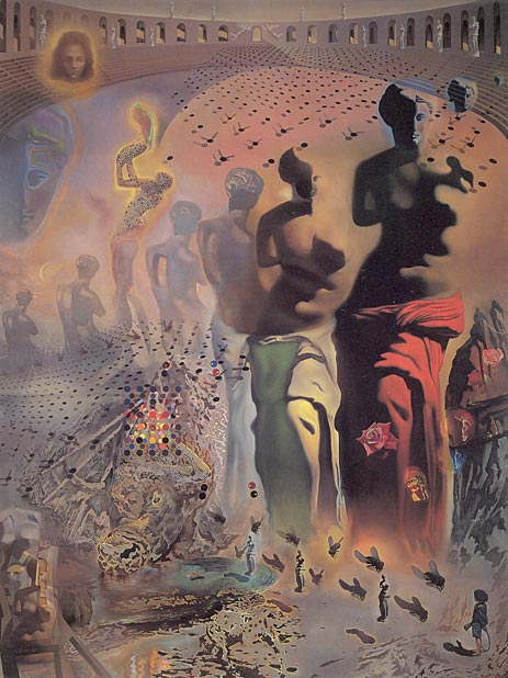 Dali | The Hallucinogenic Toreador, c.1968/70 | Giclée Canvas Print