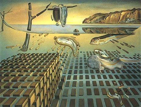 The Disintegration of Persistence of Memory, c.1952/54 | Dali | Giclée Canvas Print