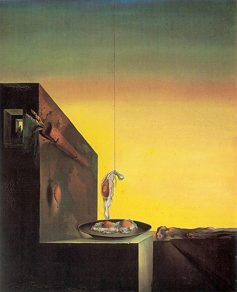 Eggs on the Plate Without the Plate, 1932 | Dali | Giclée Canvas Print
