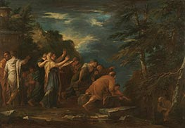 Salvator Rosa | Pythagoras Emerging from the Underworld, 1662 | Giclée Canvas Print