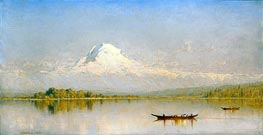 Sanford Robinson Gifford | Mount Rainier, Bay of Tacoma - Puget Sound | Giclée Canvas Print
