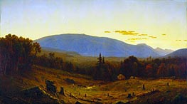 Sanford Robinson Gifford | Hunter Mountain, Twilight | Giclée Canvas Print