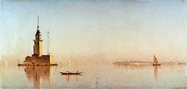 Sanford Robinson Gifford | Leander's Tower on the Bosporus | Giclée Canvas Print