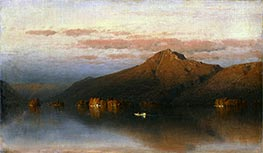 Sanford Robinson Gifford   Whiteface Mountain from Lake Placid, 1866   Giclée Canvas Print