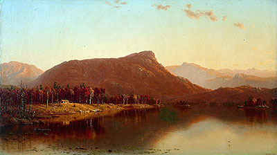 A Home in the Wilderness, 1866 | Sanford Robinson Gifford | Painting Reproduction