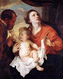 van Dyck | Holy Family | Giclée Canvas Print