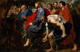 van Dyck | Entry of Christ into Jerusalem | Giclée Canvas Print