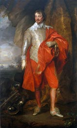 van Dyck | Robert Rich, Second Earl of Warwick, c.1632/41 | Giclée Canvas Print