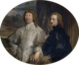 van Dyck | Endymion Porter and Anthony van Dyck, c.1635 | Giclée Canvas Print