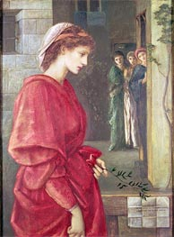 Burne-Jones | Beatrice | Giclée Canvas Print