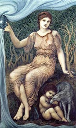 Burne-Jones | Earth Mother | Giclée Canvas Print