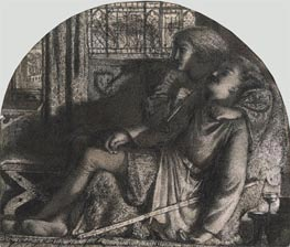 Burne-Jones | I Rose Up in the Silent Night: I made my Dagger Sharp and Bright | Giclée Canvas Print