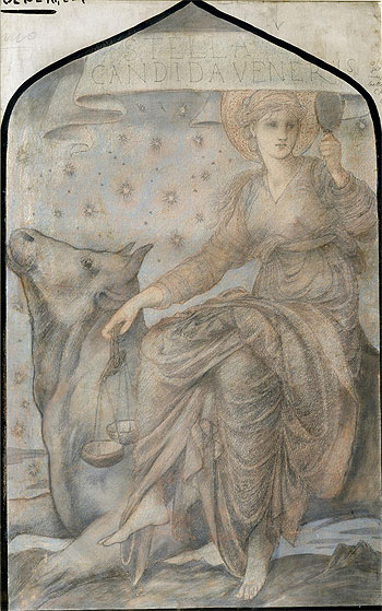 Venus, Undated | Burne-Jones | Painting Reproduction