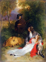 Landseer | The Bride of Lammermoor | Giclée Paper Print