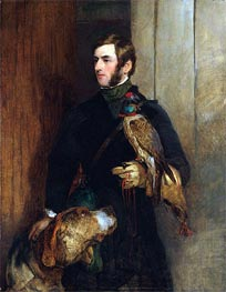 Landseer | The Falconer (Portrait of William Russell) | Giclée Paper Print